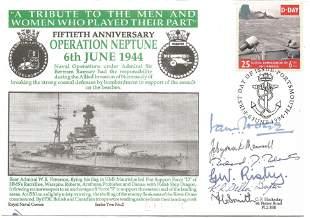 Sir Ian Hogg KCB NSC, Lt Cdr J. C. Dymock-Maunsell RN,