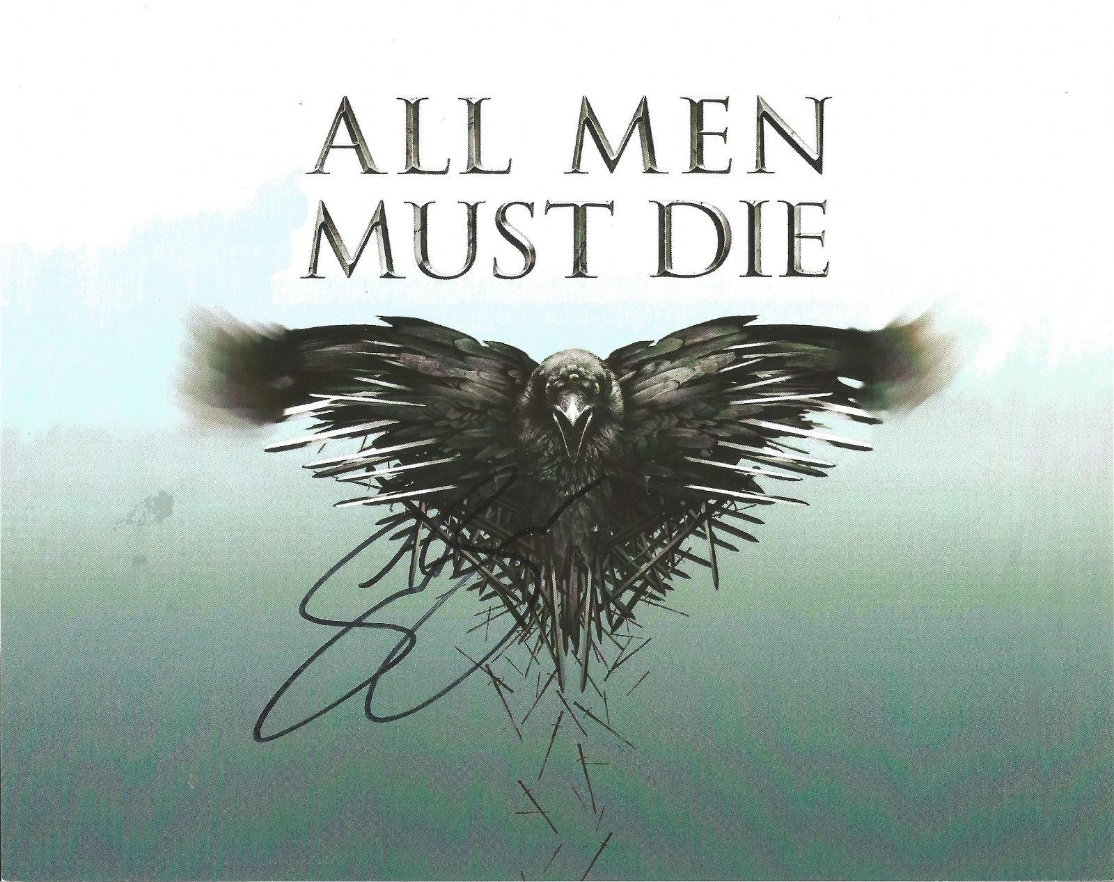 Emilia Clarke signed 10x8 colour Game of Thrones promo