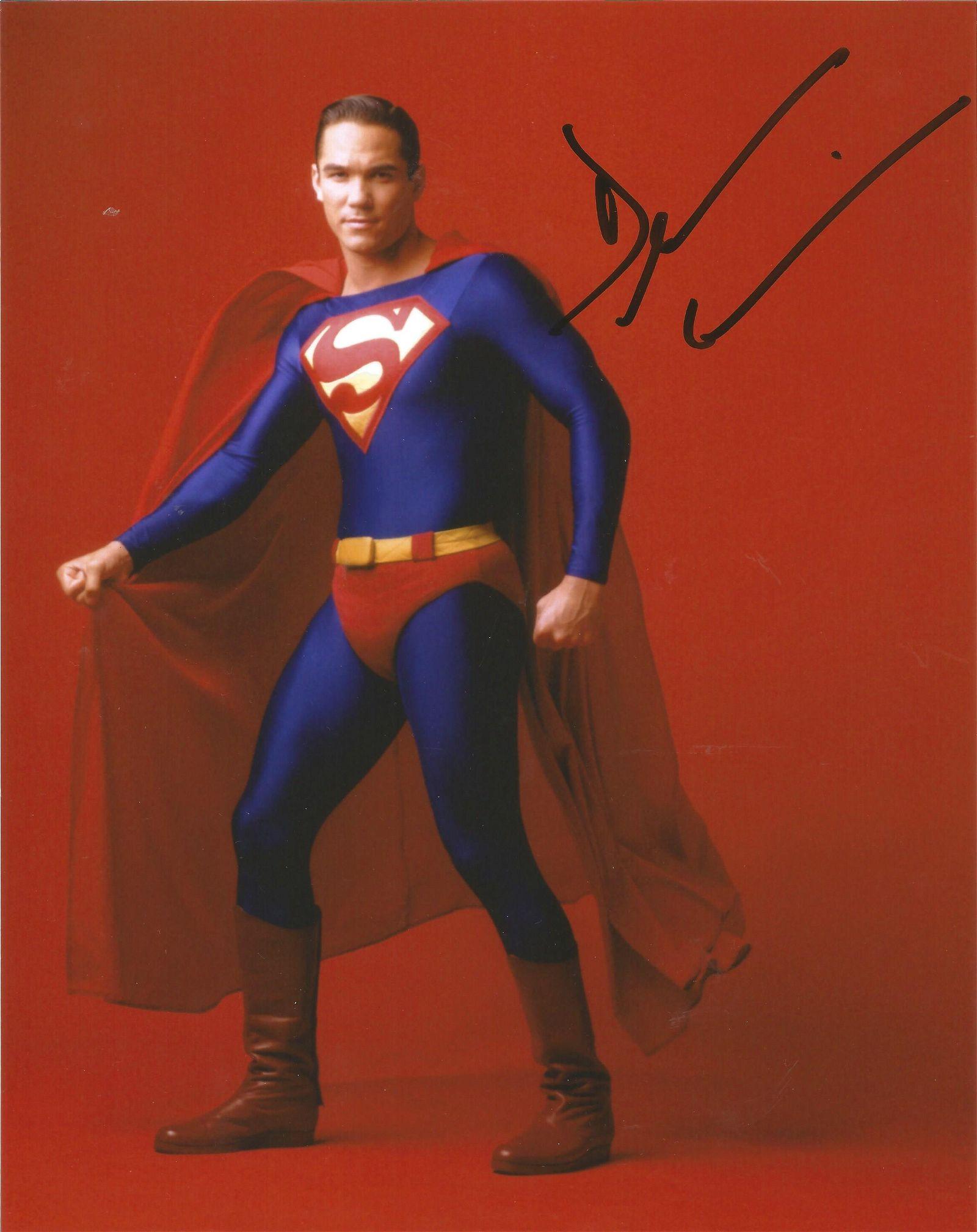 Dean Cain signed 10x8 colour photograph taken during