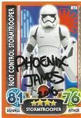 Emun Elliott signed Star Wars trading card. Taslin