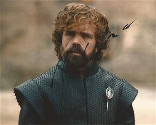 Peter Dinklage signed 10x8 colour photograph taken from