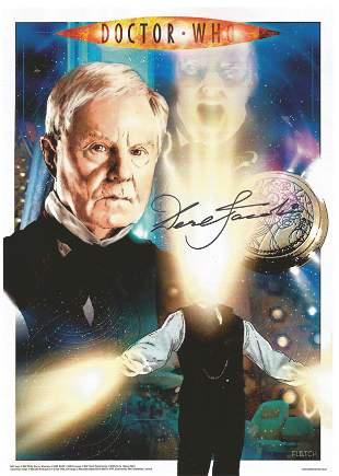 Derek Jacobi signed 12x8 colour promo photograph taken