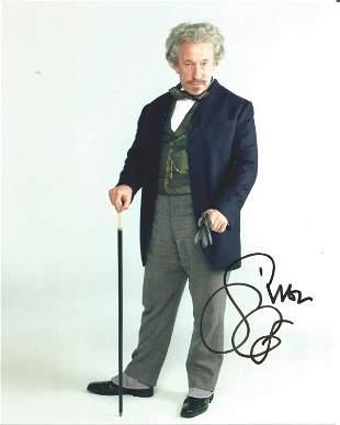 Simon Callow signed 10x8 colour photograph taken as he