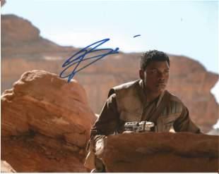 John Boyega signed 10x8 colour photograph pictured