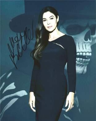 Monica Bellucci signed 10x8 colour photograph. Bellucci