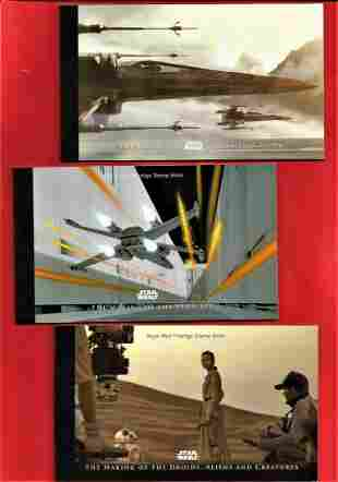 Star Wars presentation packs collection containing 64