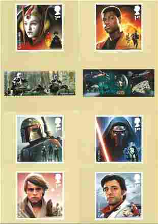 Star Wars collection of 43 PHQ cards. These lovely