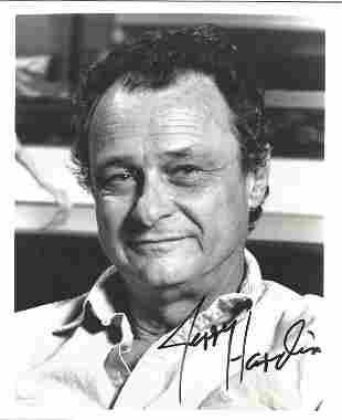 Jerry Hardin signed 10x8 black and white photo. Jerry