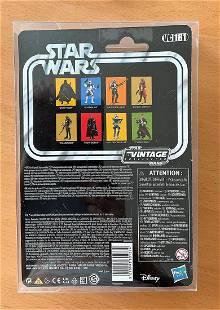 Star Wars, miniature action figure of The Mandalorian.