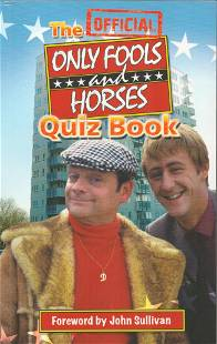 Only Fools and Horses Official Quiz Book featuring a