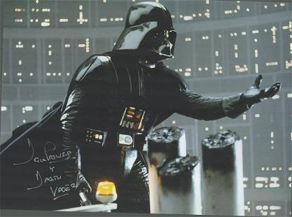 Star Wars, Dave Prowse signed 16x12 colour photograph