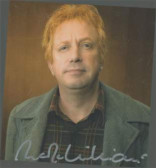 Harry Potter star, Mark Williams signed 10x8 colour