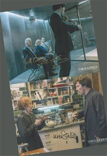Sherlock collection of signed 10x8 colour photographs