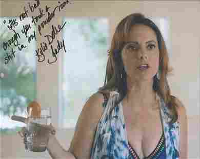 Kylie Delre signed and inscribed 10x8 colour photograph