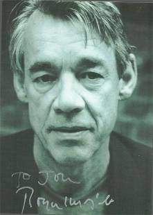 Roger Lloyd-Pack signed and dedicated 6x4 black and