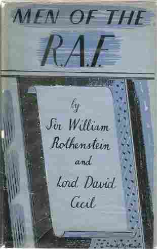 Sir William Rothenstein and Lord David Cecil. Men Of
