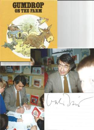 Val Biro collection, includes a signed and dedicated