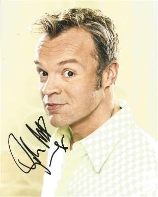 Graham Norton signed 10x8 colour photograph. Norton is