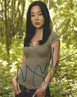 Yunjin Kim signed 10x8 colour photograph pictured