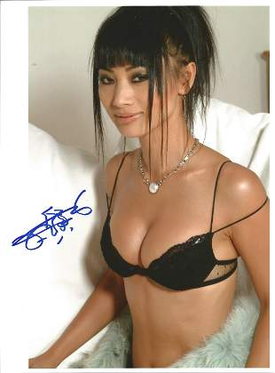 Bai Ling signed 10x8 colour photograph. Ling is known