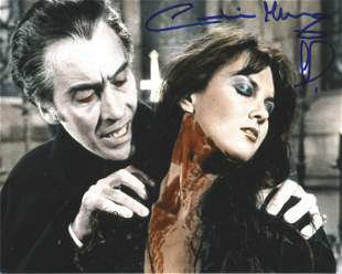 Caroline Munro signed 10x8 colour photograph pictured