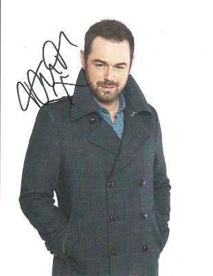 Danny Dyer signed 10x8 colour photograph. Dyer is well