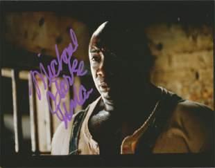 Michael Clarke Duncan signed 10x8 colour photograph