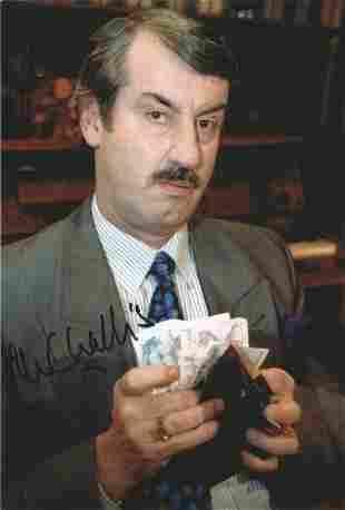 John Challis signed 12x8 colour photograph pictured