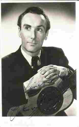 Elton Hayes (1915-2001) Actor Signed Vintage Photo.