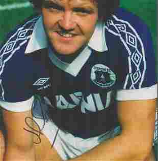 Football, John Bailey signed 12x8 colour photograph