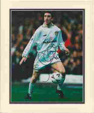 Football, Jason Wilcox signed and beautifully double