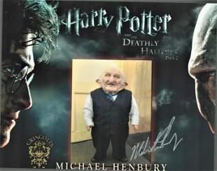 Michael Henbury signed 10x8 colour promo photograph for