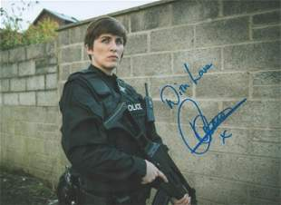 Vicky McClure signed 10x8 colour photograph pictured