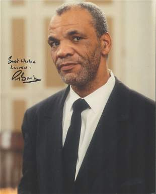 Paul Barber. Signed 10x8 colour photograph pictured as