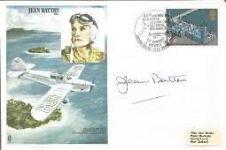 Jean Batten signed FDC Jean Batten CBE No. 0765 of