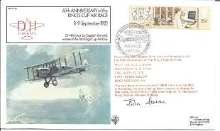 AVM Sir John Severne signed FDC 60th Anniversary of the