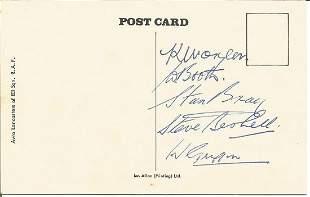 K. Morgan, W. Booth, Stan Bray, Steve Bushell, W.