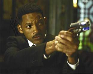 Will Smith signed 10x8 colour photo pictured in his