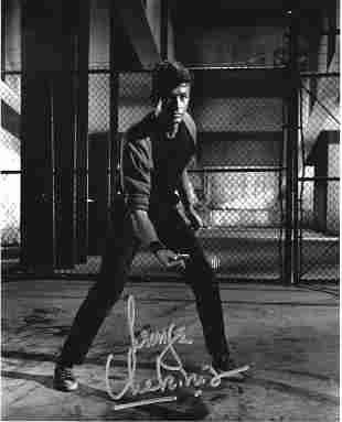 George Chakiris signed 10x8 black and white photo