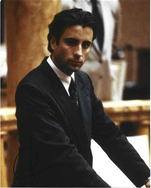 Andy Garcia signed 10x8 colour photo pictured in his