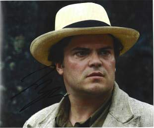 Jack Black signed 10x8 colour photo picture in his role
