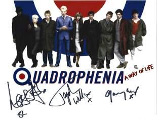 Quadrophenia multi signed 10x8 colour photo signature