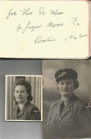 Mainly RAF and RCAF officers stationed at or visiting