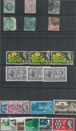GB stamp collection on stockcards. Includes QV and
