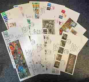 GB FDC collection 15 covers dating 1989/1991 includes
