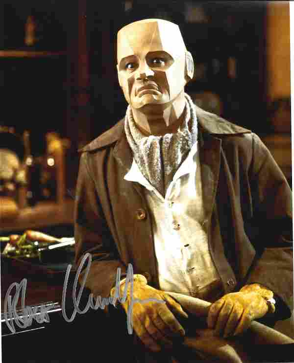 Robert Llewellyn signed 10x8 colour photo pictured in