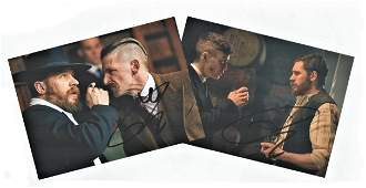 Peaky Blinders, collection of 2 6x4 colour photographs
