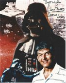 Star Wars Dave Prowse signed 10 x 8 inch colour photo