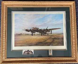 World War II 36x30 Framed and mounted print, titled