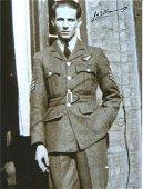 Flight Sergeant Lan Manning of 57 squadron signed 8x6